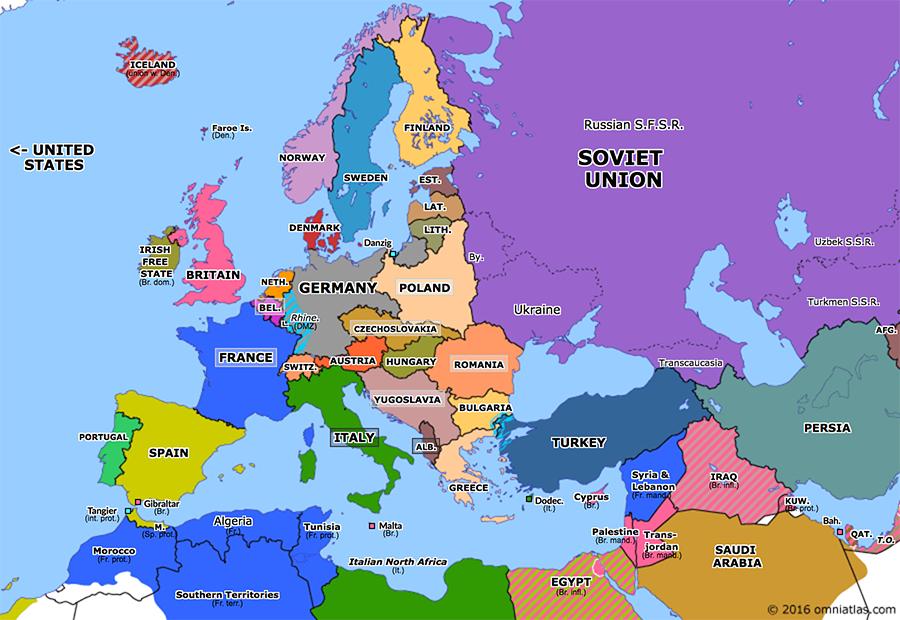 Europa 1930