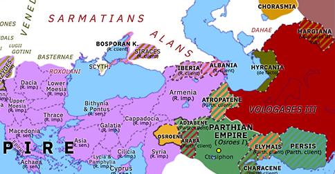Trajan's Conquest of Armenia