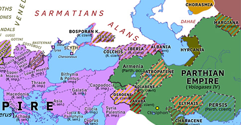 Vologases IV's Conquest of Armenia
