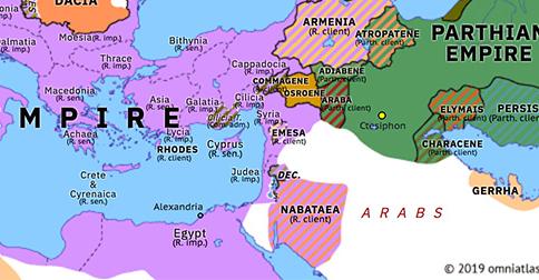 jerusalem on map of europe Siege of Jerusalem | Historical Atlas of Europe (14 April 70 AD