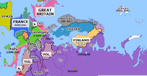 Battle Of Berlin Historical Atlas Of Northern Eurasia 2 May 1945 Omniatlas