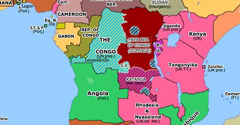 Discord over the Congo