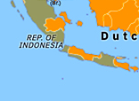 Historical Atlas of Asia Pacific 1947: Indonesian War of Independence