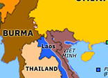 Historical Atlas of Asia Pacific 1954: First Indochina War