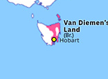 Australasia 1825: Colony of Van Diemen's Land