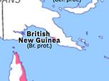 Australasia 1884: New Guinea Protectorates