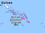 Australasia 1893: Partition of the Solomon Islands