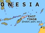 Australasia 1976: Indonesian invasion of East Timor