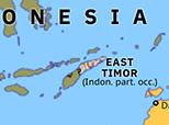 Australasia 1976: Indonesian invasion of East Timor