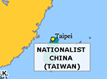 East Asia 1949: Nationalist Taiwan