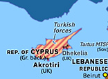 Eastern Mediterranean 1974: Turkish invasion of Cyprus