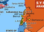 Eastern Mediterranean 1976: Lebanese Civil War