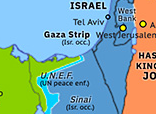 Eastern Mediterranean 1979: Israeli withdrawal from Sinai