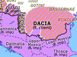 Historical Atlas of Europe 102: First Dacian War