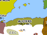 Europe 1830: French invasion of Algeria