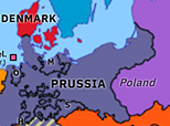 Europe 1867: North German Confederation