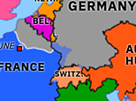 Europe 1871: Treaty of Frankfurt