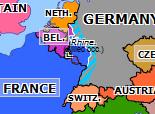 Historical Atlas of Europe 1925: Locarno Conference