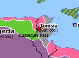 Historical Atlas of Europe 1943: Tunisia Campaign