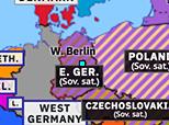 Europe 1963: Berlin Wall