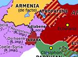 Historical Atlas of Europe 216: Caracalla's Parthian Campaign