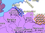 Europe 278: Probus' Restoration of Gaul