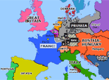 Europe 1870: Outbreak of the Franco-Prussian War
