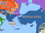 Europe 1878: Treaty of San Stefano