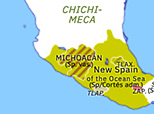 North America 1523: Spanish Consolidation in Mexico
