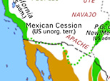 North America 1848: Treaty of Guadalupe Hidalgo