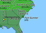 North America 1861: Attack on Fort Sumter