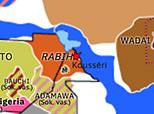 Historical Atlas of Northern Africa 1900: Battle of Kousséri