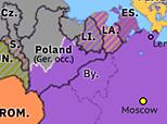 Northern Eurasia 1939: Molotov–Ribbentrop Pact