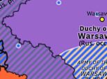 Northwest Europe 1813: Treaty of Kalisz