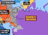 Northern Eurasia 1918: Treaty of Brest-Litovsk