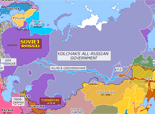 Northern Eurasia 1918: Kolchak's All-Russian Government