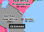 Sub-Saharan Africa 1915: Early Victories of the Schutztruppe