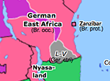 Sub-Saharan Africa 1917: Conquest of German East Africa