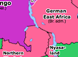 Historical Atlas of Sub-Saharan Africa 1920: Africa and the Peace Treaties