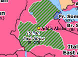 Sub-Saharan Africa 1941: Liquidation of Italian East Africa