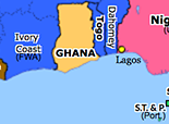 Sub-Saharan Africa 1957: Independence of Ghana