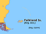 South America 1982: Falklands War