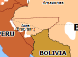 South America 1908: Rio Branco's Treaties
