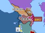 Southern Asia 1918: Breakup of Transcaucasia