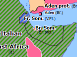 Southern Asia 1941: East African Campaign