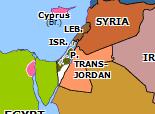 Southern Asia 1948: End of Mandatory Palestine
