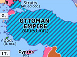 Southern Asia 1918: Occupation of Constantinople