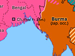 Southern Asia 1943: Arakan, Chindits, and Bengal Famine