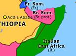 Sub-Saharan Africa 1935: Abyssinia Crisis