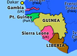 Sub-Saharan Africa 1958: Independence of Guinea